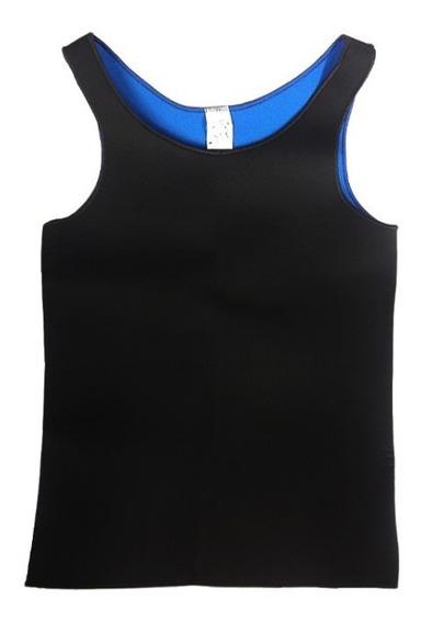 Cinta Camiseta Camisa Modeladora Emagrecedora Masculina + Colete Postural Reforçada Redu Shaper Efeito Sauna