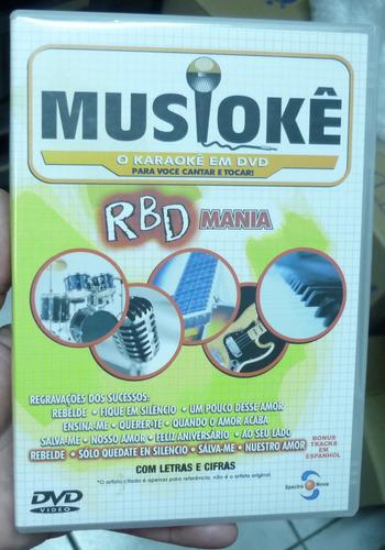 Dvd  -  Musioke -  Rebelde - Rbd Mania