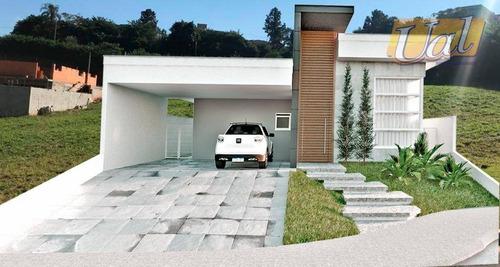 Casa Com 3 Dormitórios À Venda, 198 M² Por R$ 910.000,00 - Buona Vita - Atibaia/sp - Ca1852