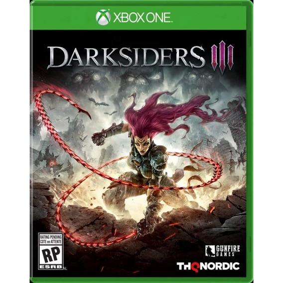 Darksiders Iii Xbox One Mídia Física Novo Lacrado Original