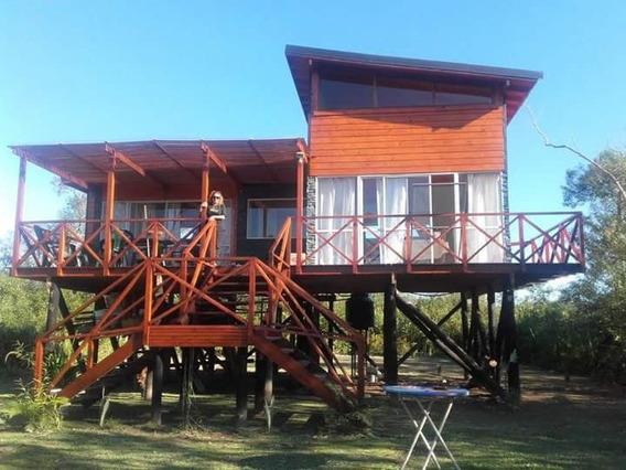 Cabaña En El Delta Del Paraná Moderna De 3 Ambientes