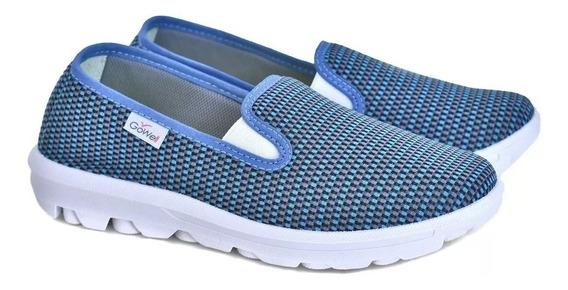 Zapatillas Panchas De Mujer Gowell Livianas Del 35 Al 41
