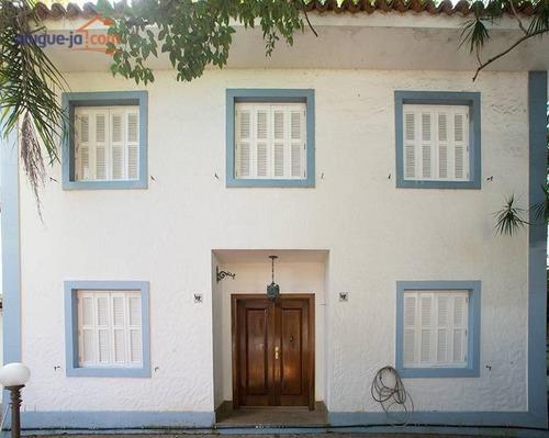 Sobrado Residencial Com 3 Dormitórios Para Alugar, 440 M² Por R$ 7.500/mês - Alto De Pinheiros - São Paulo/sp - So1582