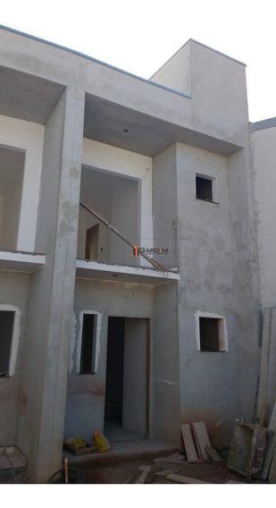 Sobrados-em Construção-80 M²-02 Dorms - 02 Wc- 02 Vagas-80 M²-parque Olimpico - So0056