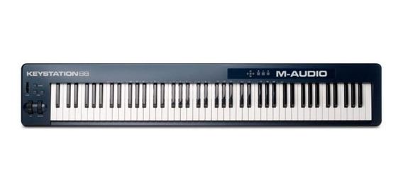M-audio Keystation 88 Ii Teclado Controlador Midi Usb C/ Nfe