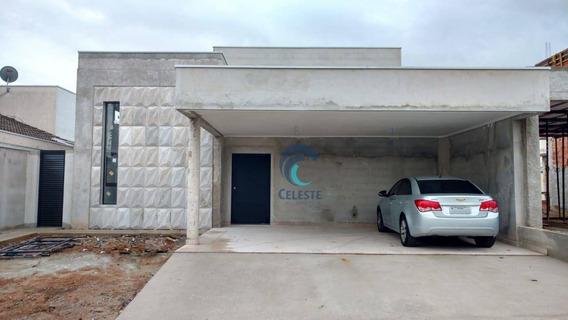 Casa Com 3 Dormitórios À Venda, 141 M² Por R$ 520.000 - Condomínio Terras Do Vale - Caçapava/sp - Ca0707