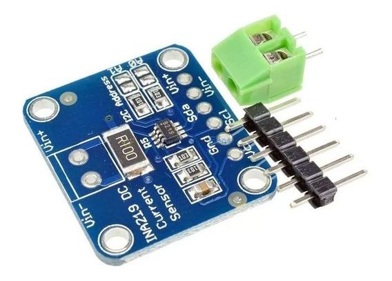 Sensor De Corrente Dc Arduino Alta Precisão Ina219 I2c
