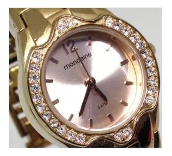 Relógio De Pulso Mondaine Feminino U03649 Webclock