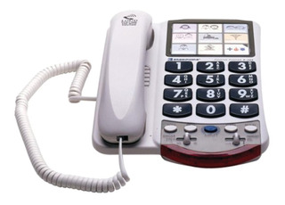 Teléfono Amplificador Para Personas Con Problemas De Oído