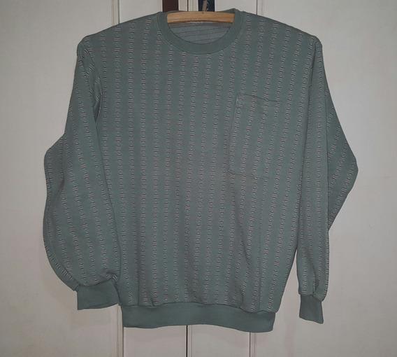 Buzo Pijama Nene Color Verde Talle 12