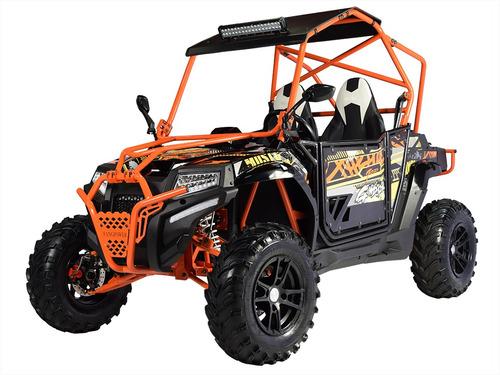 Buggy Predator 400 Preto/laranja