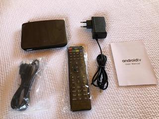 Android Tv, Smart Tv, Dvb-s2, Receptor Satelital, 8gb, Iptv,