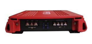 Amplificador Woofer 1500w 1ch Clase D Control Audio Auto