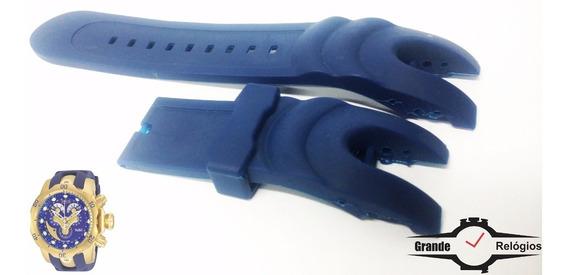 Pulseira Invicta Venom Azul Modelo 14465 Dentre Outros