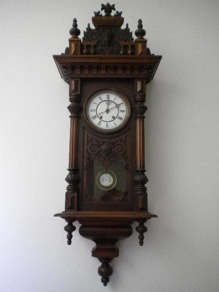 Relógio Antigo Alemão - Todo Original - Lenzkirch