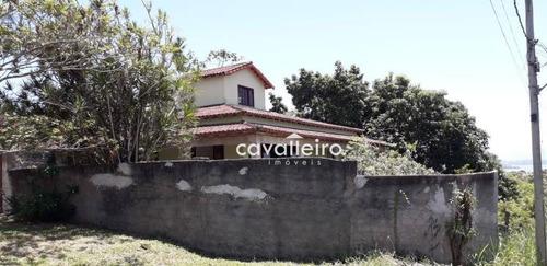 Casa Com 2 Dormitórios À Venda, 199 M² - São José Do Imbassaí - Maricá/rj - Ca3996