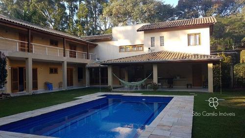Imagem 1 de 30 de Casa Com 5 Dormitórios À Venda, 550 M² Por R$ 1.550.000 - Parque Frondoso - Granja Viana - Cotia/sp - Ca1815