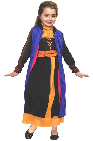 Disfraz Disney Frozen 2 Anna Vestido Negro Newtoys Manias
