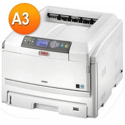 Impressora A3 Oki C830 Com Todos (suprimentos Novos)