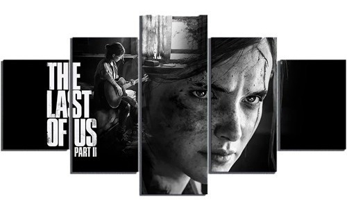 Quadros Decorativos Ellie The Last Of Us Parte 2