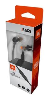 Auricular Jbl T110 Pure Bass Originales C/ Microfono