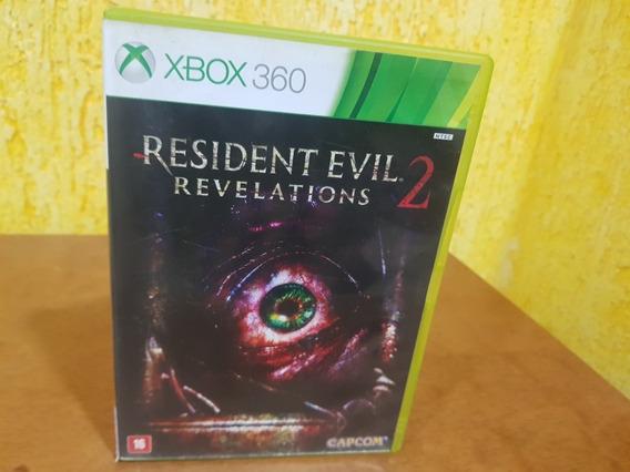 Residente Evil Revelation 2 Usado Original Xbox 360 Midia Fí