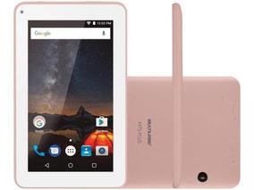 Tablet Multilaser M7s Plus 7 Polegadas 8gb Nb275 - Rosê