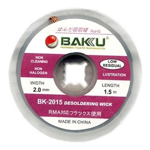 Malla Para Desoldar Baku 2015 ,reballing 2mm X 1.5 Mts La #1