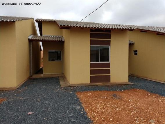 Casa Para Venda Em Várzea Grande, Paiaguas, 2 Dormitórios, 1 Banheiro, 2 Vagas - 210_1-1305431