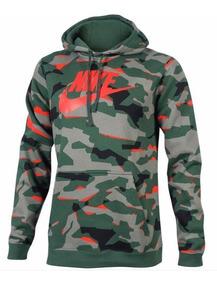 Moletom Nike Masculino Club Hoodie Camuflado Ar2867