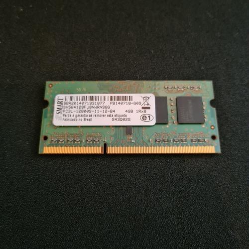 Imagem 1 de 3 de Memória Ddr3 Pc12800 4gb Smart - Notebook