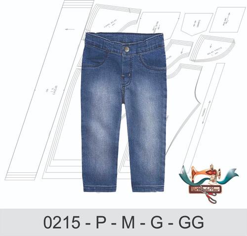 Molde Digital Modelagem De Calça Jeans Bebê
