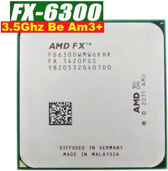 Processador Fx 6300 3.5ghz Black Edition Am3+ Cooler Usado