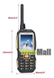 Celular Dual-sim Land Handy Radio Walkie Talkie Waterproof