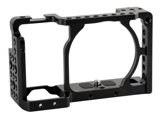 Suporte Cage Gaiola P Dslr Sony A6000 A6300 A6400
