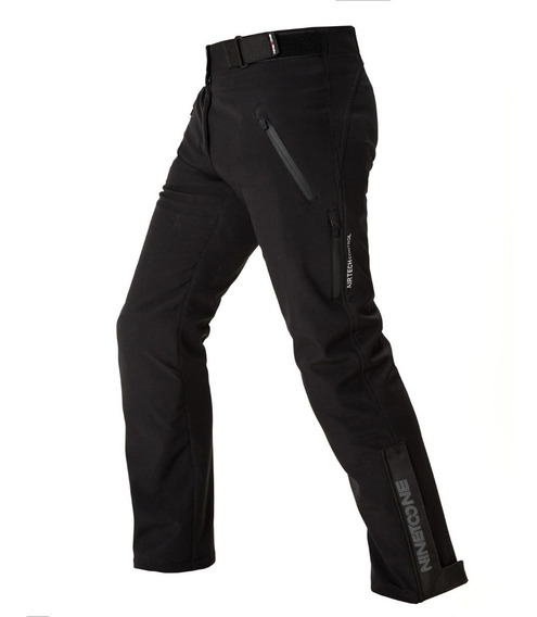 Pantalon Moto Softshell Nine To One Hera Protecciones Desmontable