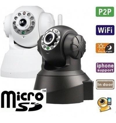 Câmera360° Pro Ip Wireless Com Visão Noturna E Acesso Remoto