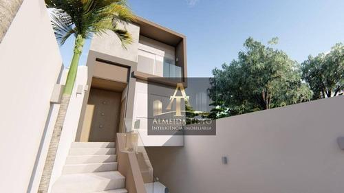 Vila Do Conde - Barueri / Sp. Excelente Casa Com 3 Dormitórios E Área Privativa De Convivência. - Ca2344