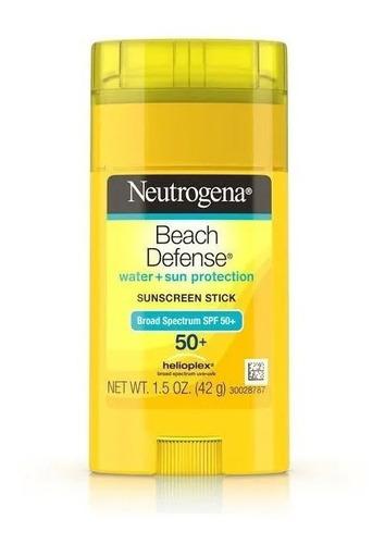 Protetor Solar Neutrogena Beach Defence 42g Bastão Fps 50