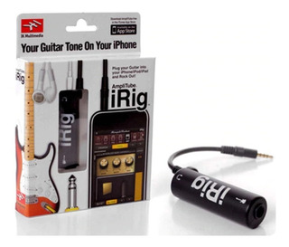 Irig Amplitube Guitarra - iPhone - iPad