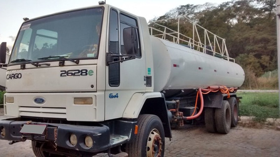 Ford Cargo 2628 Traçado Ano 2008/09 Tanque Pipa 25 Mil Lts