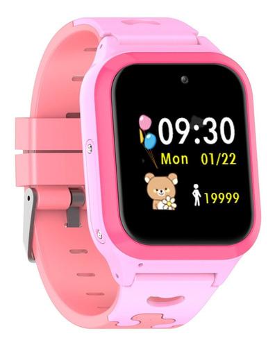 Relógio Infantil Inteligente Wi-fi Gps Smart G-track Rosa