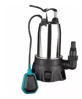 Bomba Sumergible Inox 1 Hp Agua Sucia Pileta Desagote Sotano