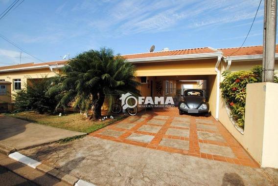 Casa Residencial À Venda, Condomínio Chácara Porto Do Sol, Paulínia - Ca1659. - Ca1659