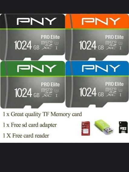 Cartão De Memória 1 Tb Pny Classe 10 Uhs 3 Pró Elite (pronta Entrega)