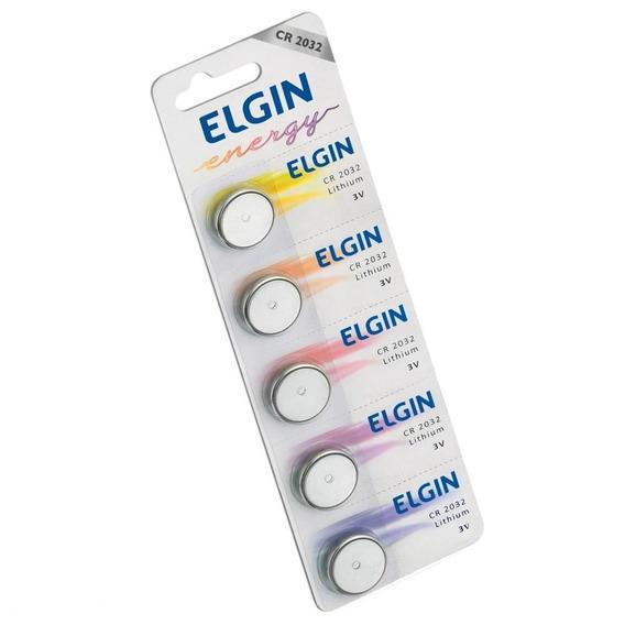 Bateria De Litio Cr2032 3v Blister Com 5 82193 Elgin