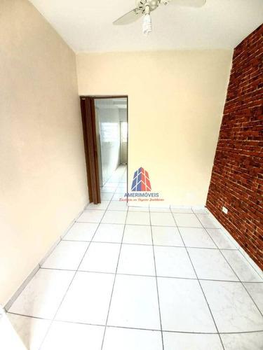Imagem 1 de 10 de Casa Com 2 Dormitórios Para Alugar, 84 M² Por R$ 800,00/mês - Residencial Vale Das Nogueiras - Americana/sp - Ca1674