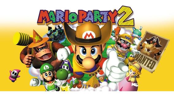 Jogo Nintendo 64 N64 Mario Party 2 Relíquia 100% Original