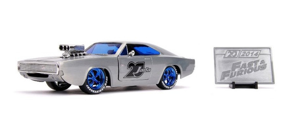Vehículo Jada 20th Diecast - Dodge Charger 1970.