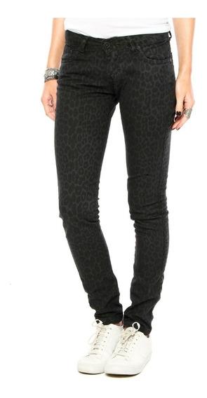 Calça Jeans Hurley Skinny Cos 81 Animal Print Feminina